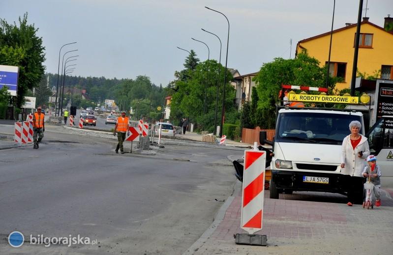 Ciąg dalszy remontu głównych ulic