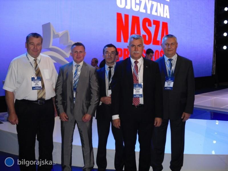 Delegacja zBiłgoraja na krajowym kongresie PiS