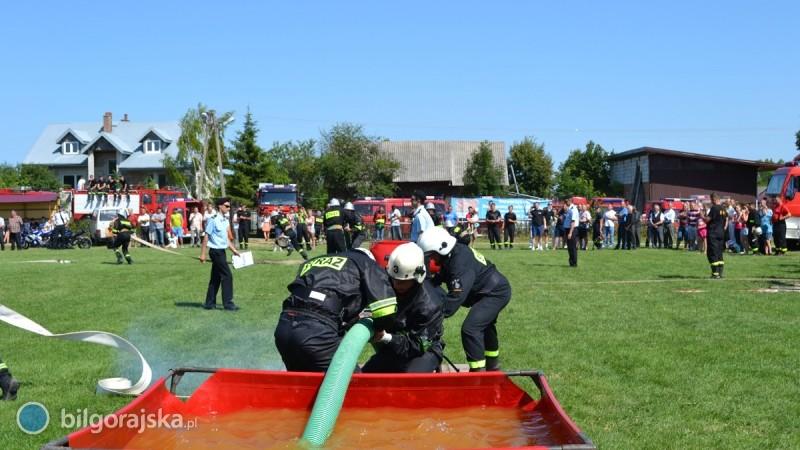 Strażacy-ochotnicy rywalizowali wTurobinie