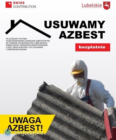 Józefów chce pozbyć się azbestu