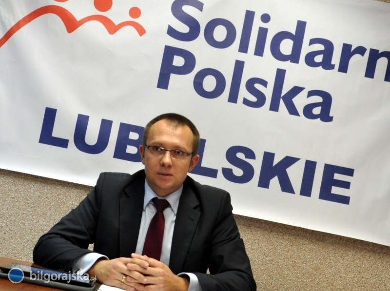 Szeliga poza Solidarną Polską - oświadczenie posła