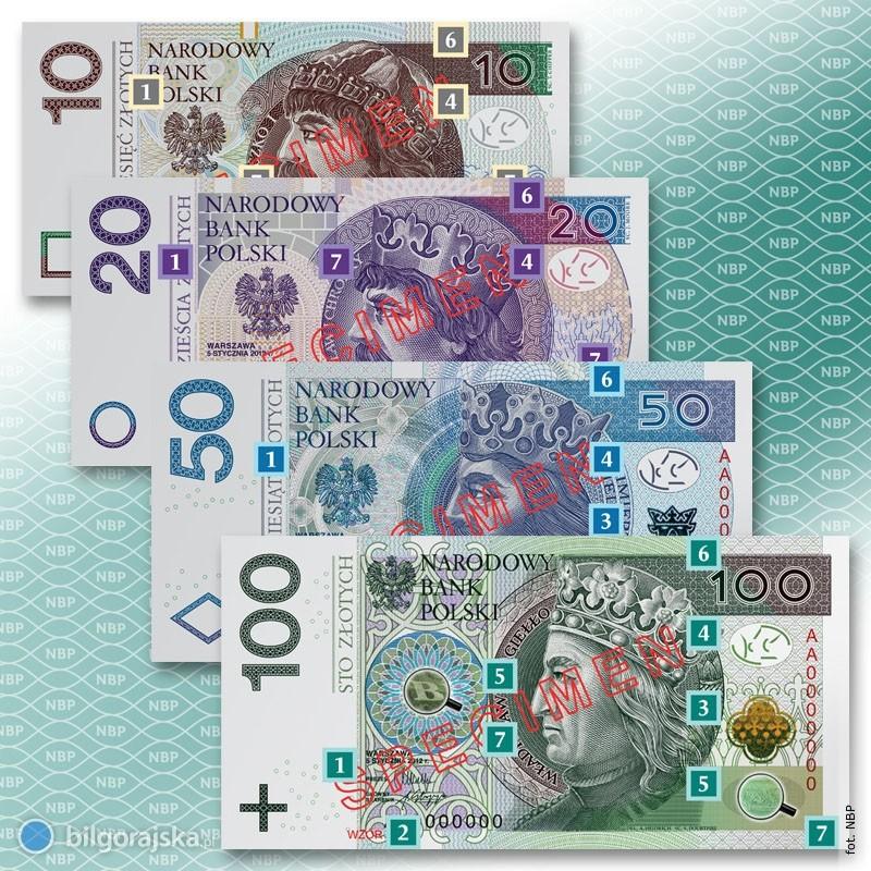 Nowe pieniądze wnaszych portfelach