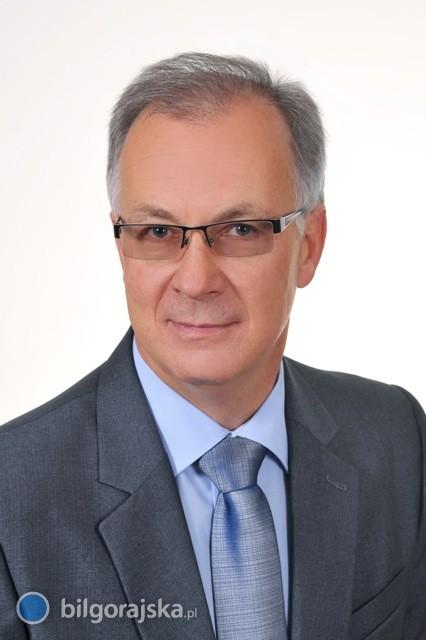 Burmistrz Janusz Rosłan zwraca się do mieszkańców Biłgoraja