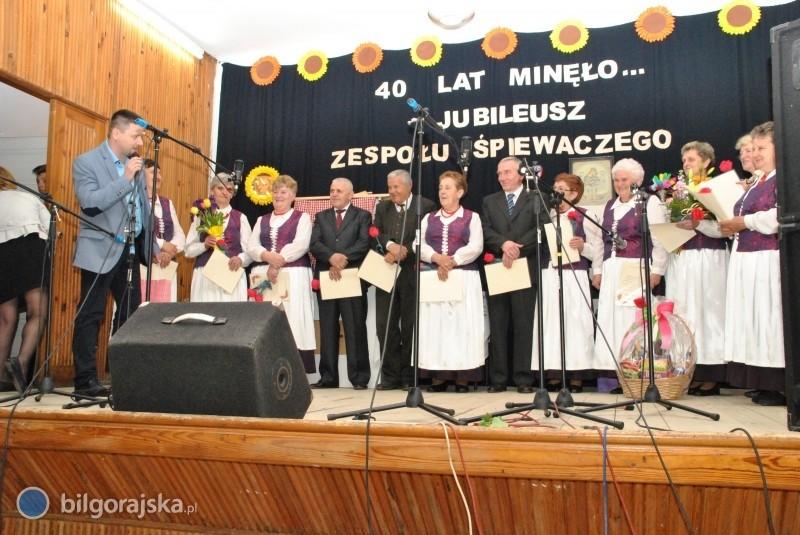 Jubileusz 40-lecia Zespołu Śpiewaczego zBidaczowa