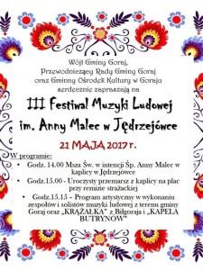 III Festiwal Muzyki Ludowej