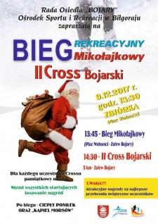 II Cross Bojarski oraz Bieg Mikołajkowy