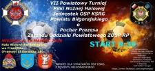VII Turniej Piłki Nożnej Halowej Strażaków