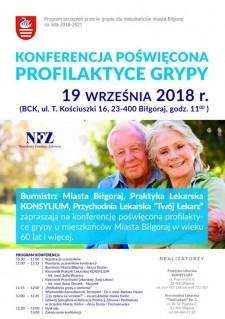 Konferencja poświęcona profilaktyce grypy