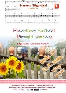 Powiatowy Festiwal Piosenki Ludowej
