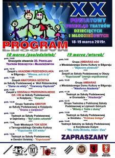Powiatowy Przegląd Teatrów Dziecięcych iMłodzieżowych