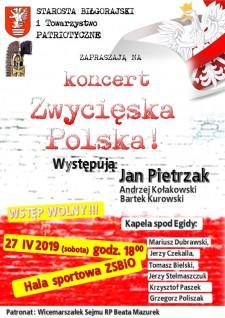 """Koncert """"Zwycięska Polska!"""""""
