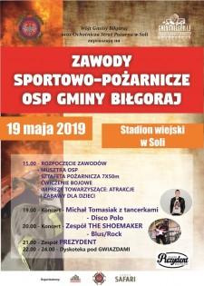 Zawody sportowo-pożarnicze OSP gminy Biłgoraj