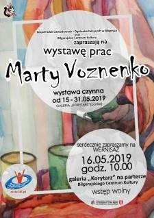 Wystawa prac Marty Voznenko