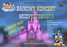 Bajkowy koncert muzyki Disneya