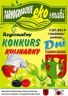 Regionalny Konkurs Kulinarny TARNOGRODZKIE EKOSMAKI