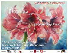 Warsztaty akwareli zJarosławem Drązkiem