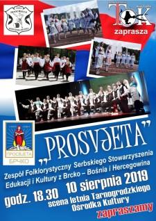 """Koncert zespołu """"PROSVJETA"""" zBośni iHercegowiny"""
