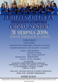 Jubileusz 10-lecia Chóru Noster