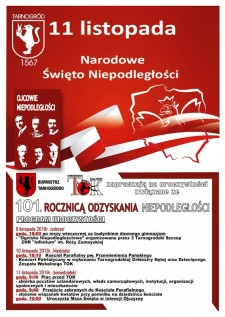 Narodowe Święto Niepodległości wTarnogrodzie
