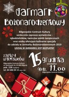 Jarmark Bożonarodzeniowy wBCK