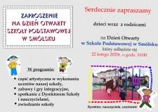 Dzień Otwarty Szkoły Podstawowej wSmólsku