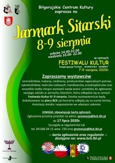 Jarmark sitarski podczas Festiwalu Kultur