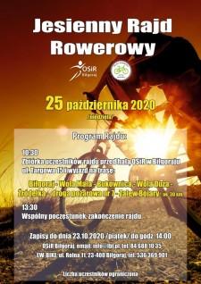 Jesienny Rajd Rowerowy - ODWOŁANY