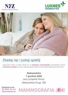 Mammografia wAleksandrowie