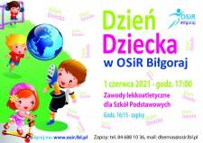 Dzień Dziecka zOSiR Biłgoraj