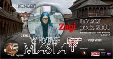 """Koncert zcyklu""""W rytmie miasta"""" zagra: Zagi iMaks Łapiński"""