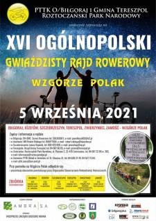 XVI Ogólnopolski Gwieździsty Rajd Rowerowy na Wzgórze Polak