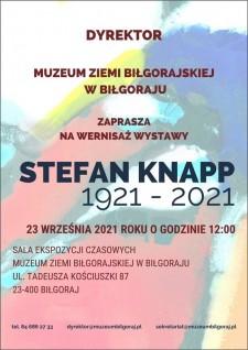 WYSTAWA STEFAN KNAPP 1921 - 2021