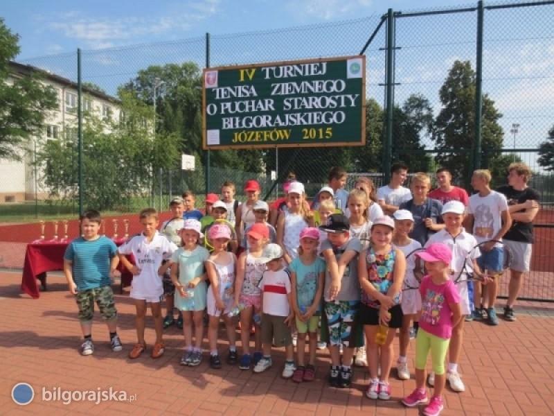 Burzowe zmagania tenisistów