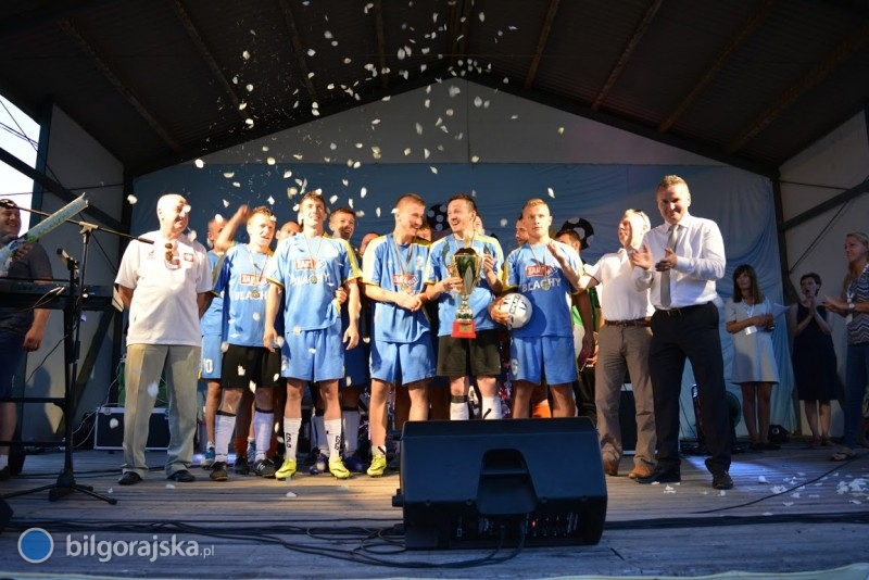 """Sól zwycięzcą turnieju """"o Puchar Wójta Gminy Biłgoraj"""""""