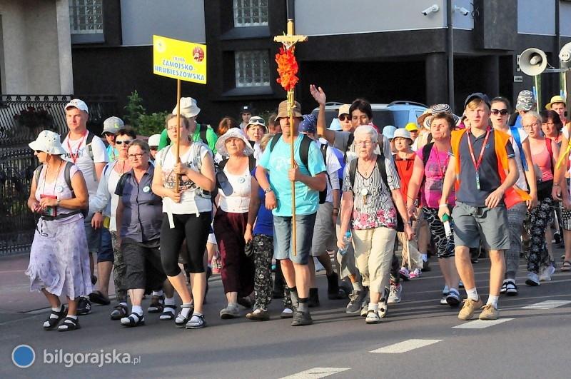 Pielgrzymi dotarli do Biłgoraja