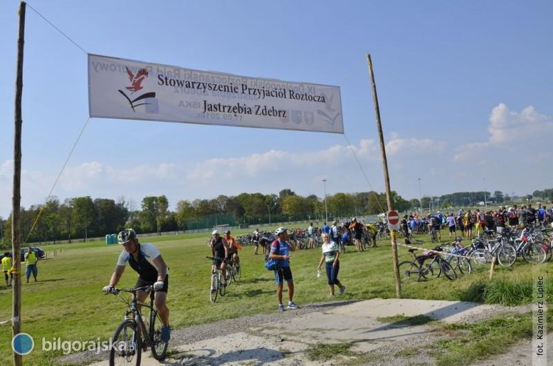 500 cyklistów przejechało jastrzębią trasą