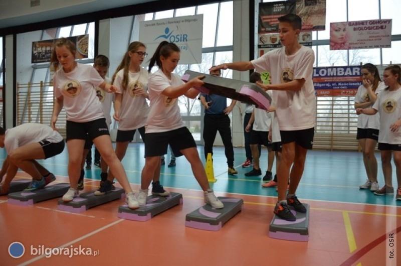 Sportowa rywalizacja gimnazjalistów