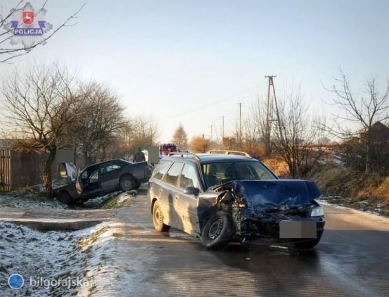 34-latek poważnie ranny wwypadku wgminie Goraj