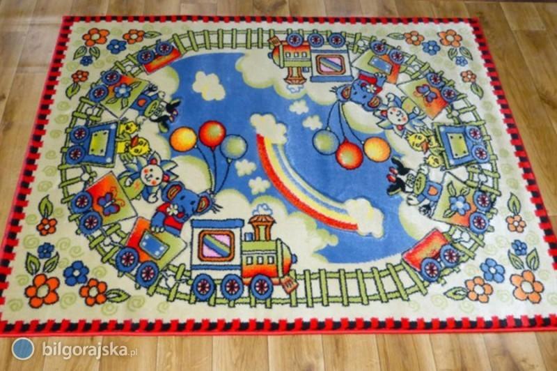 Dywan dla chłopca - bawi, uczy, rozwija