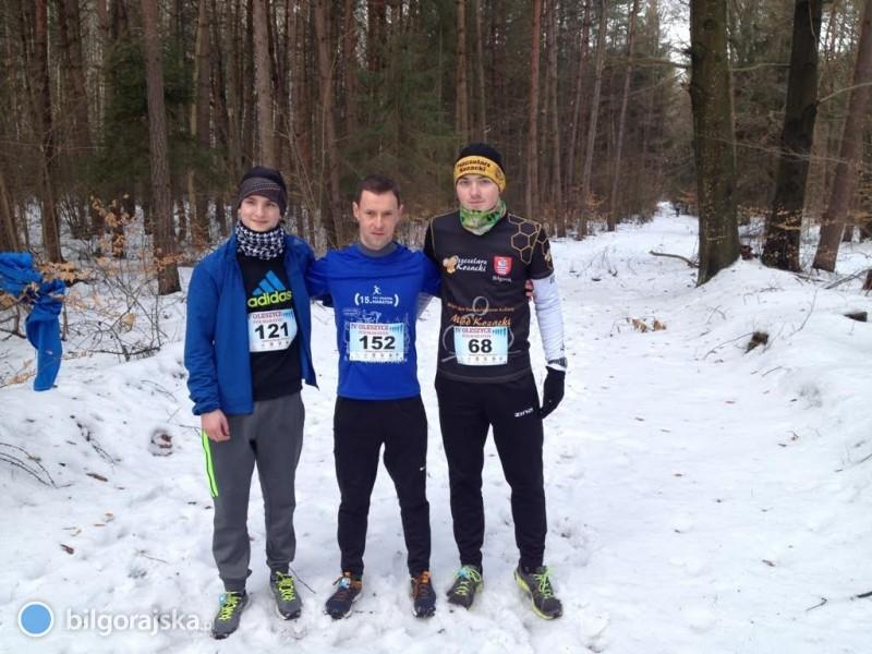 Uczniowie ZSZiO na maratonie