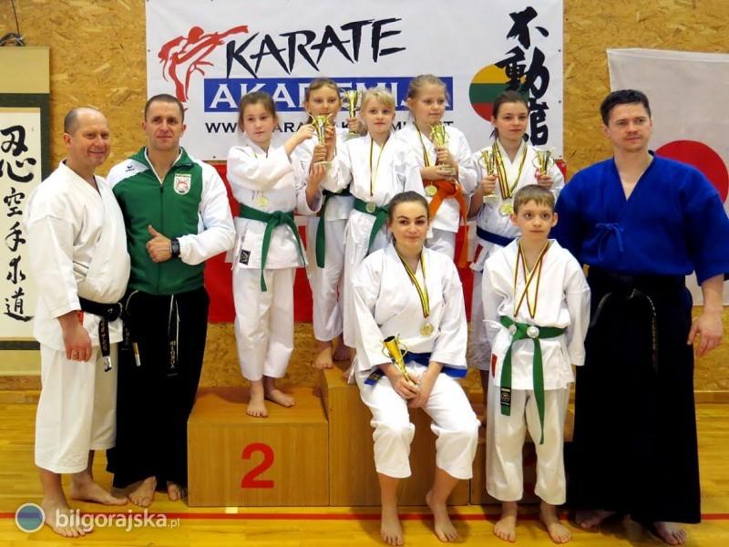 Dobry start karateków na Litwie iwlidze wojewódzkiej