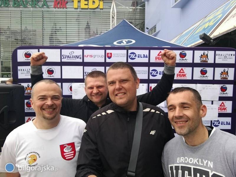 Slam Drinkers tuż za podium na SBA 3x3 Tour wKoszycach