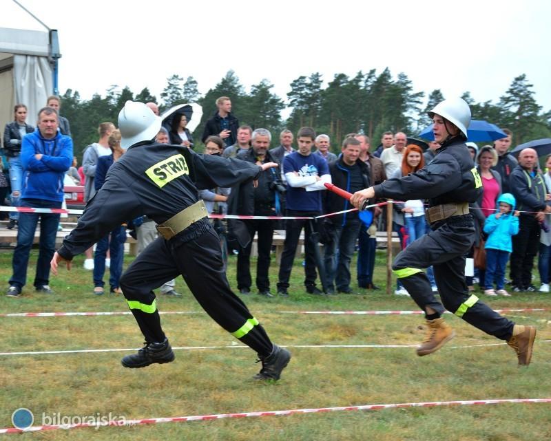 Powiatowe zmagania strażaków - Aleksandrów 2017