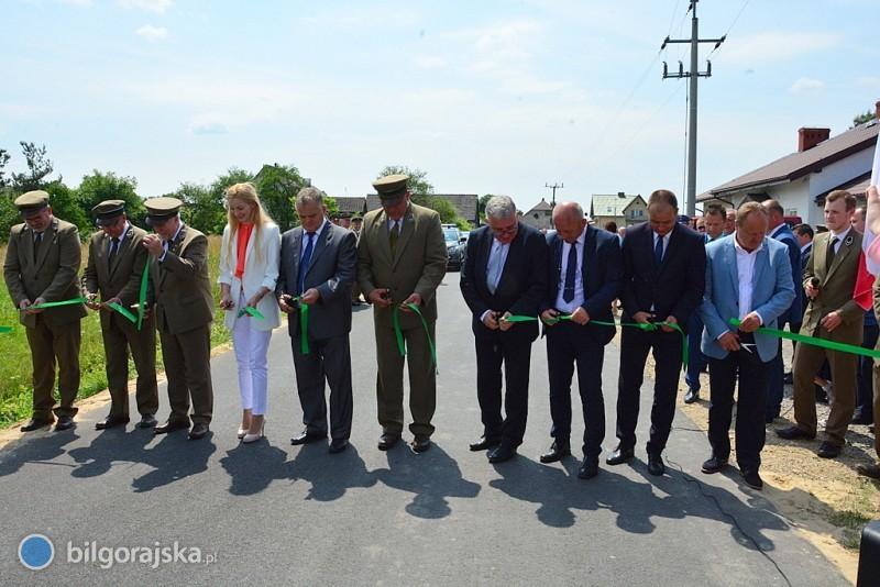 Powstała nowa droga wramach współpracy leśno-samorządowej