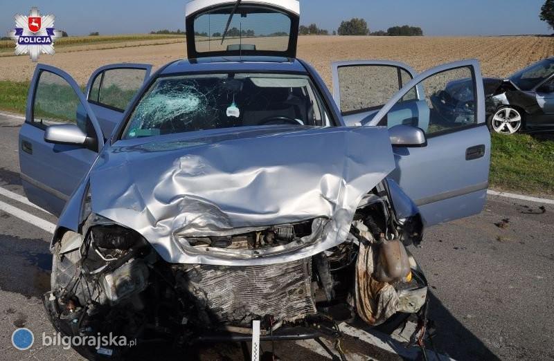 Dwoje dzieci rannych wwypadku
