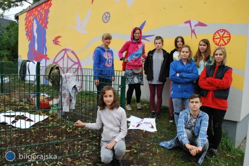 Warsztaty street artu wGoraju