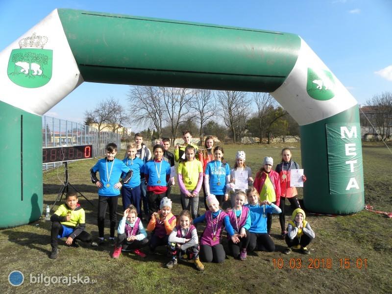 Sukces biłgorajskich biegaczy