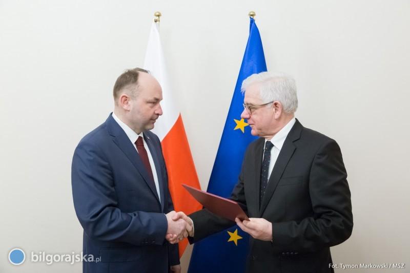 Pochodzący zFrampola Andrzej Papierz został podsekretarzem stanu wMSZ