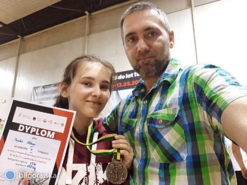 Srebrny medal dla Mileny