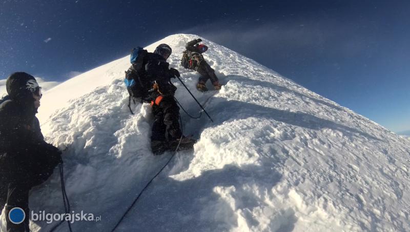 61-latek zpowiatu na Mont Blanc